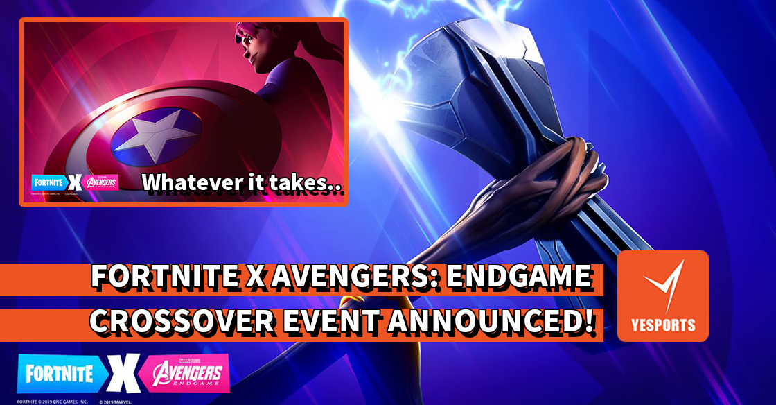 """FORTNITE X AVENGERS: ENDGAME"" CROSSOVER EVENT ANNOUNCED!"