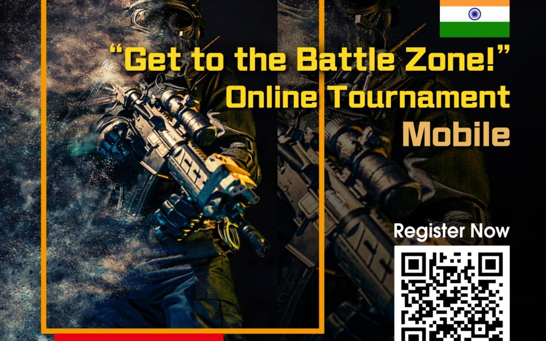 """PUBG Mobile online tournament in 2020 January -""""Get to the Battle Zone!"""" in India"""