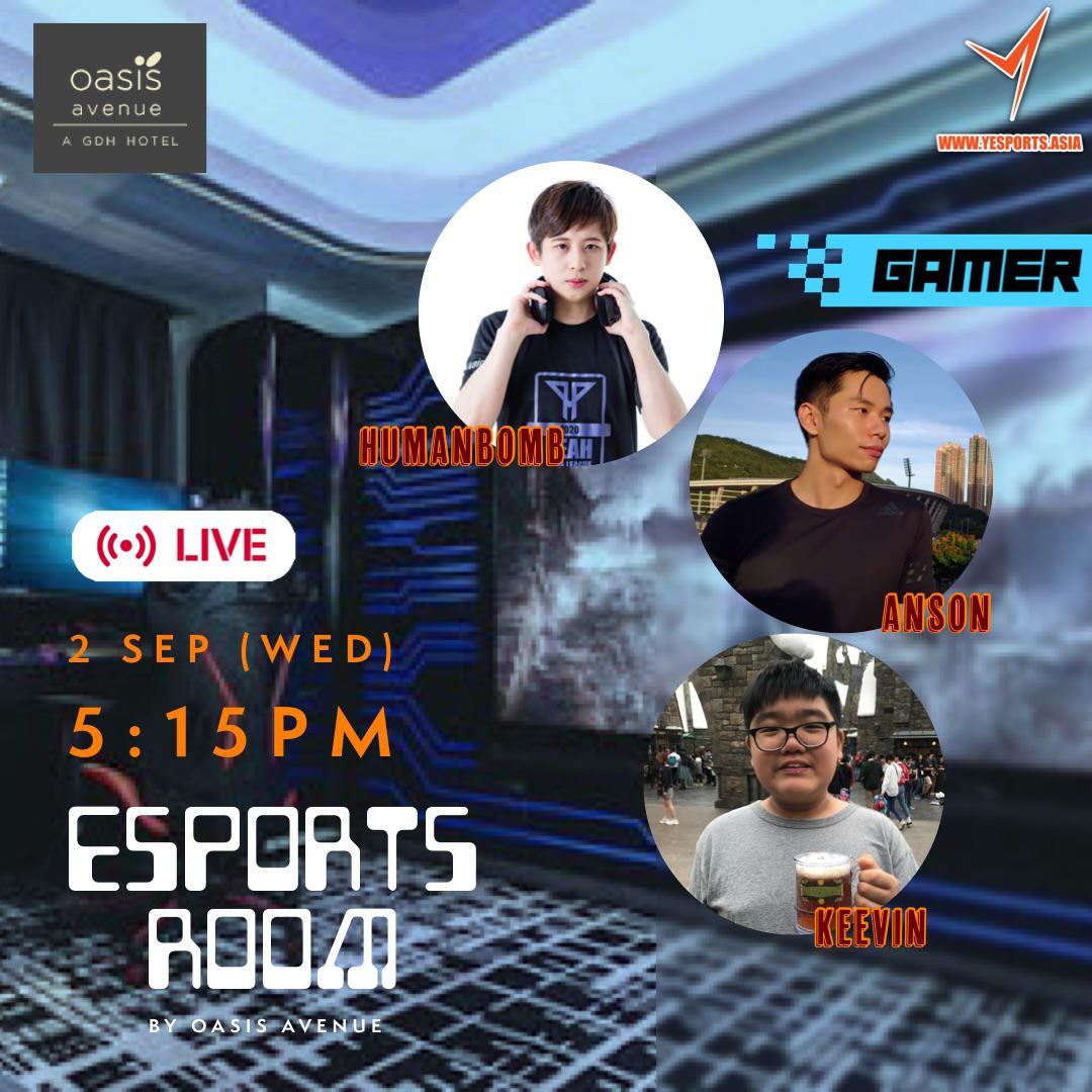 【Yesports x Oasis Avenue – Esports Room VR Experience! ⚔️】