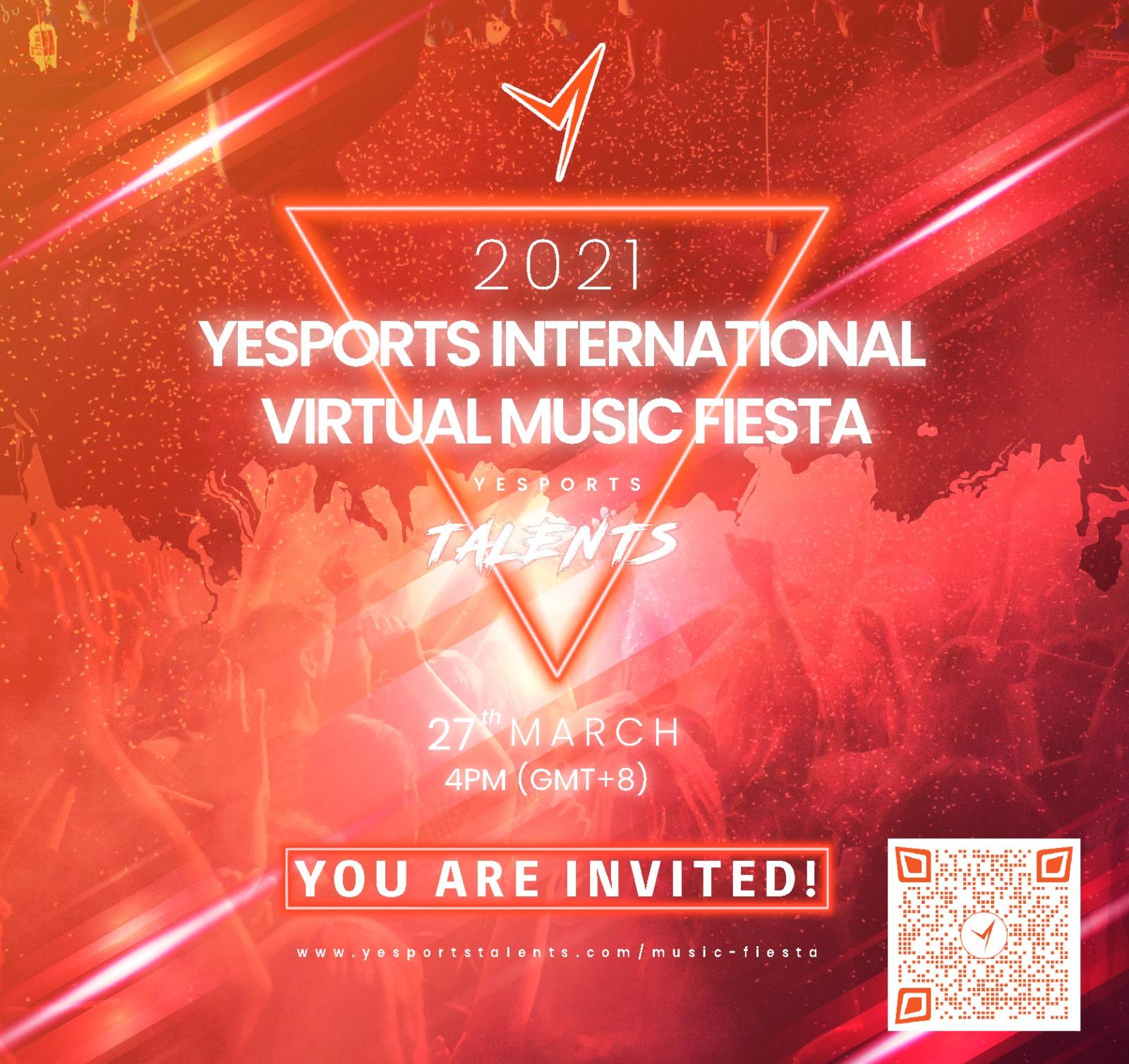 【International Virtual Music Fiesta with YESPORTS! 】